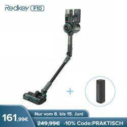 Wieder da: Redkey F10 Akku Handstaubsauger für 161,99€
