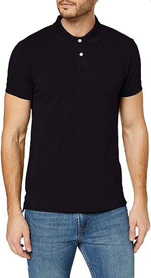 ESPRIT Herren Classic Piqué Poloshirt (schwarz, Gr. S,L u. XXL) für 8,40€ (statt 19,90€)