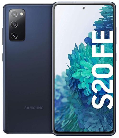 Samsung Galaxy S20 FE (6.5 Zoll, 4.500 mAh Akku, 128GB, 6GB RAM) in Cloud Navy für nur 489€ (statt 538€)