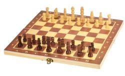 Lixada 30x30cm Holz Schachspiel für nur 9,99€