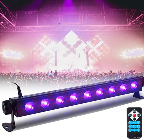 SOLMORE 3 Modi LED Schwarzlichtscheinwerfer für nur 12,80€