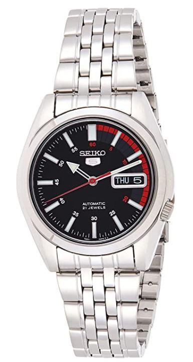 Seiko SNK375K1 Herren Analog-Automatik Uhr für nur 87,20€ (statt 132€)