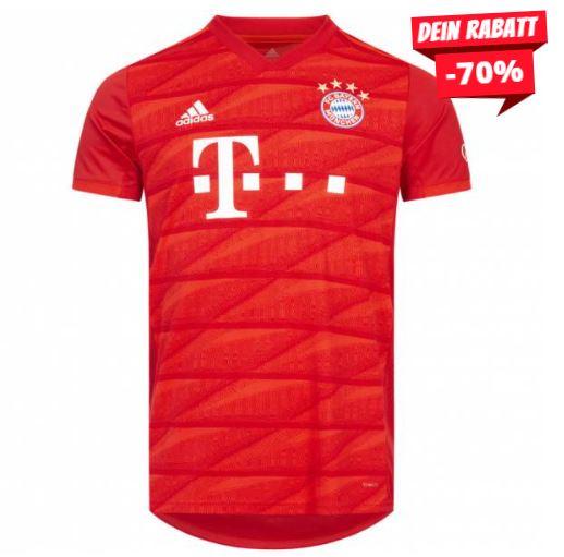 Mia san mia! Adidas FC Bayern München Trikot für 33,94€ inkl. Versand