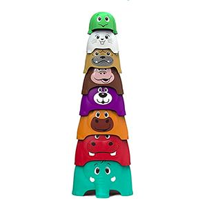 Toymus Baby Stapelturm Lernspielzeug für nur 9,44€ inkl. Prime-Versand