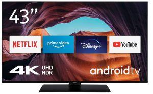 Nokia Smart TV 4300A 43 Zoll Android TV (4K UHD, DVB-C/S2/T2, Netflix, Prime Video, Disney+) für nur 319€ inkl. Versand