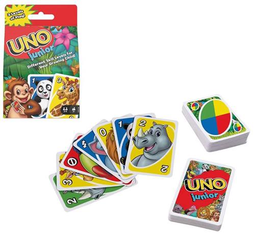 Mattel Games UNO Junior Kartenspiel für nur 6,29€ (statt 10€)