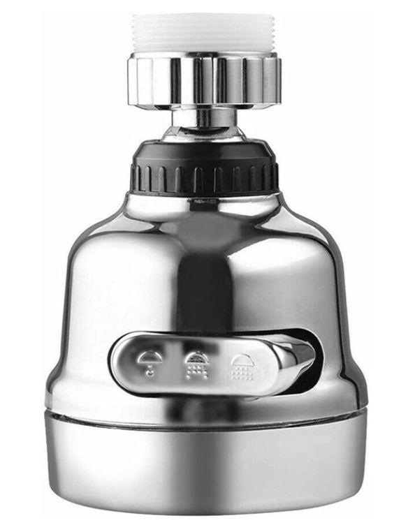 Fesjoy universeller 360° drehbarer Wasserhahnkopf für nur 4,99€