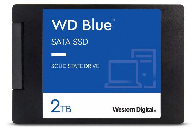 WD Blue SATA SSD (2TB, 2.5 Zoll) für nur 169,99€ (statt 200€)