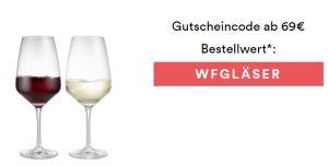 Zwei hochwertige Gratisgläser bei jeder Bestellung ab 69€ bei Weinfreunde.de