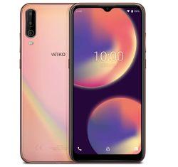 WIKO VIEW4 Smartphone 64GB mit 5.000mAh Akku und Triple-Cam in Cosmic Gold für 98,99€