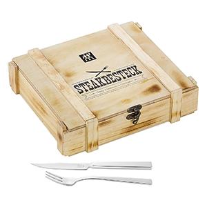 Zwilling Steak Besteckset in rustikaler Holzbox für nur 23,99€ (statt 32€)
