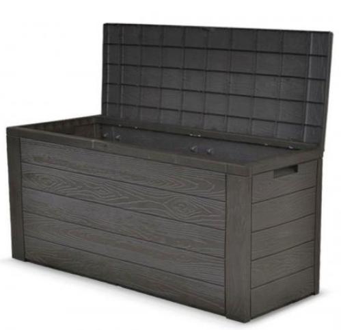 Auflagenbox Holz Optik für Auflagen oder Kissenbox für nur 34,99€ inkl. Versand