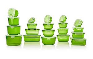 20 LocknLock Frischhaltedosen (verschiedene Farben, nestbar, 170ml – 2,1l) ab 15€ (statt 35,90€)