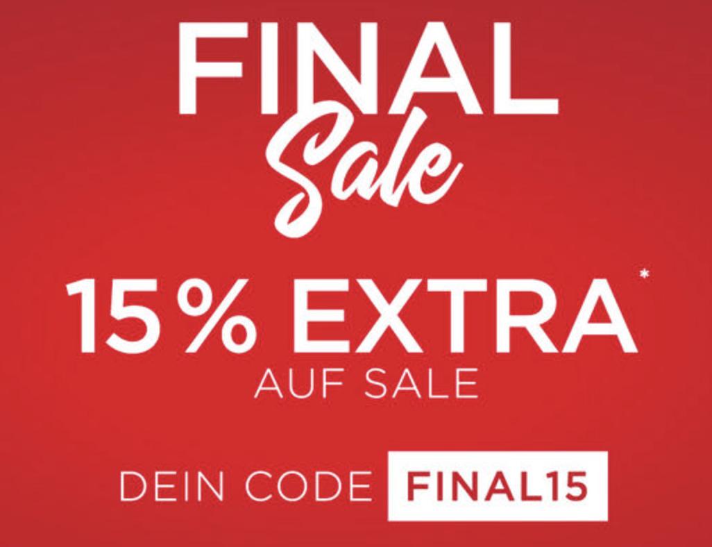 Großer Engelhorn Sale mit bis zu 70% Rabatt + 15% EXTRA-Rabatt!