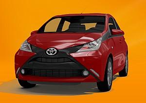 Privatleasing: Toyota Aygo 1.0 mit 72 PS für 88,88€ mtl. – LF: 0.58