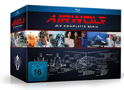 Airwolf – Die komplette Serie [Blu-ray] für nur 55,97€ (statt 78,79€)