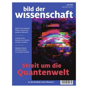 Jahresabo (14 Ausgaben) Bild der Wissenschaft für 121,55€ – als Prämie: 115€ BestChoice Gutschein