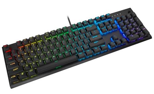 Corsair K60 RGB Pro mechanische Gaming Tastatur (MX Cherry Low Speed, RGB) für nur 94,95€ inkl. Versand