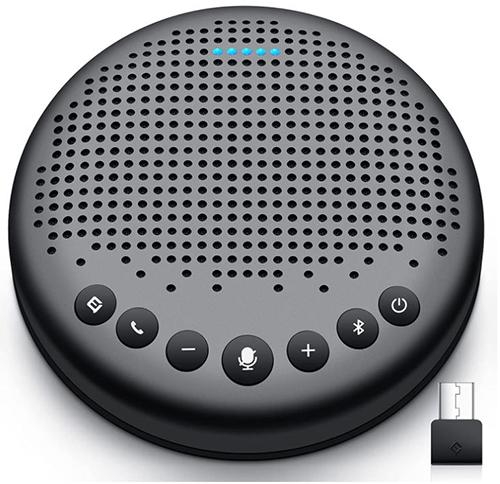 eMeet Luna Bluetooth Konferenzlautsprecher (5-10 Personen, 360° Spracherkennung, USB Dongle) für nur 79,20€