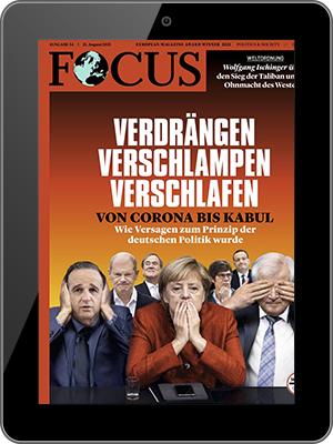 Jahresabo (52 Ausgaben) FOCUS als E-Paper für nur einmalig 7,99€ (statt 207,48€)