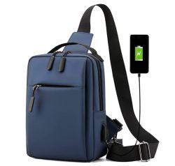 Lixada Umhängetasche Sling Bag mit USB-Ladeanschluss für 17,99€