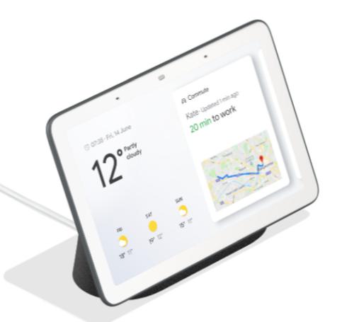 Google Nest Hub Anthracite Carbon Digitaler Bilderrahmen für nur 63,98€ inkl. Versand