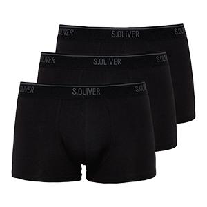 3er-Pack s.Oliver Trunks Herren-Boxershorts für nur 14,69€ (statt 23€)