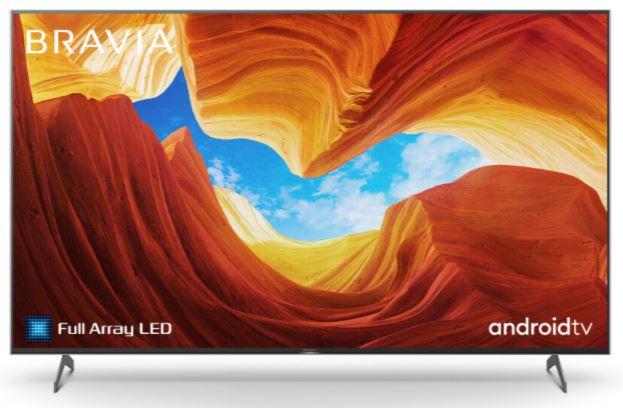 Sony KD55XH9299B Full Array LED TV (55 Zoll, 4K UHD, Smart TV, Twin Triple Tuner, HDR, Sprachsteuerung) für nur 739€ inkl. Versand