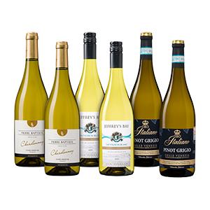 Weinvorteil Bestseller-Paket mit 3 Weißweinen (6 Flaschen) für nur 37,49€ inkl. Versand