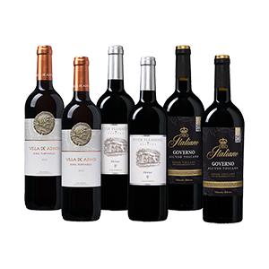 Weinvorteil Bestseller-Paket mit 3 Rotweinen (6 Flaschen) für nur 37,49€ inkl. Versand