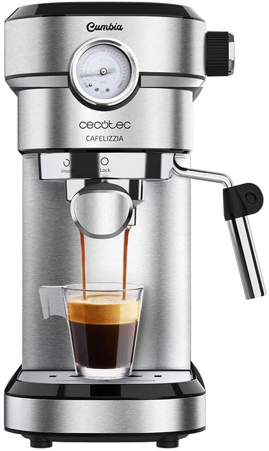 Cecotec Espressomaschine (Steel, Cafelizzia 790 Pro) für nur 69,99€ inkl. Versand