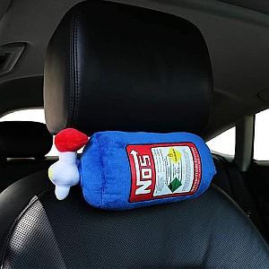 Festnight NOS Lachgas-Flasche Kissen für die Kopfstütze im Auto für 12,99€
