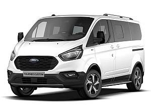 Privatleasing: Ford Tourneo Custom (frei konfigurierbar, mit Sitzheizung & Einparkhilfe) für 249€ mtl. – LF: 0,49