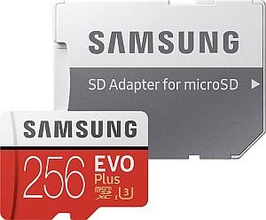 Samsung EVO Plus microSDXC 256GB Kit (UHS-I U3, Class 10) für 27,94€ (statt 34€)