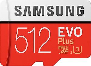 Samsung EVO Plus microSDXC 512GB Kit (UHS-I U3, Class 10) für 52,94€ (statt 65€)