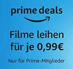 Verschiedene Filme bei Amazon Prime Video für je nur 0,99€ leihen