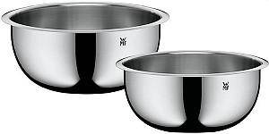 WMF Küchenschüssel-Set Gourmet (Edelstahl, 24 cm + 22 cm) für 16,99€ (statt 28€)