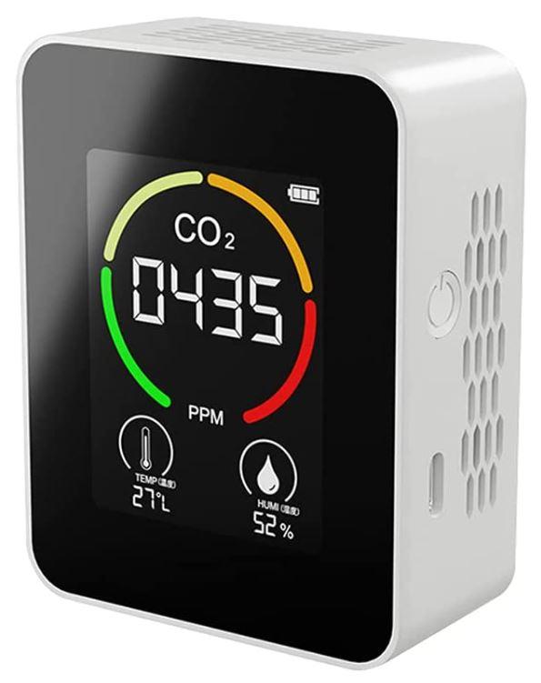 CigoPX Multifunktionales Thermohygrometer/Co2 Detektor für nur 15,99€