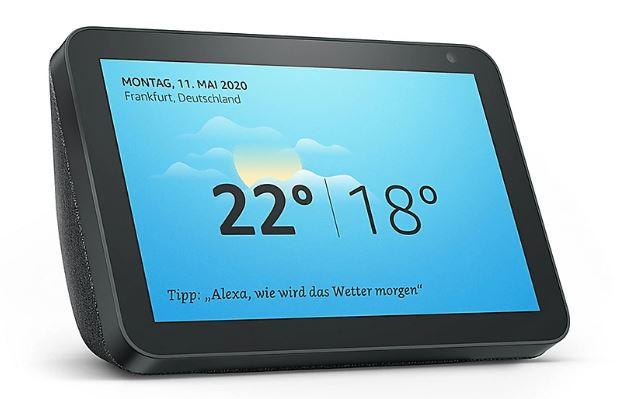 Amazon Echo Show 8 Smart Display in Anthrazit
