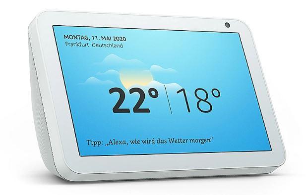 Amazon Echo Show 8 Smart Display in Sandstein