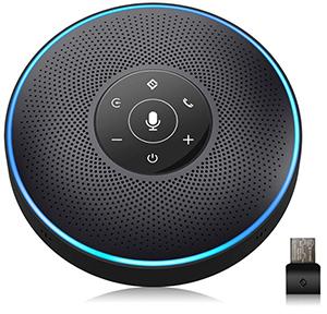 Konferenzlautsprecher gefällig? Der eMeet M2 Bluetooth Konferenzlautsprecher (4 AI-Mikrofon, 360º Spracherkennung) im Feldtest