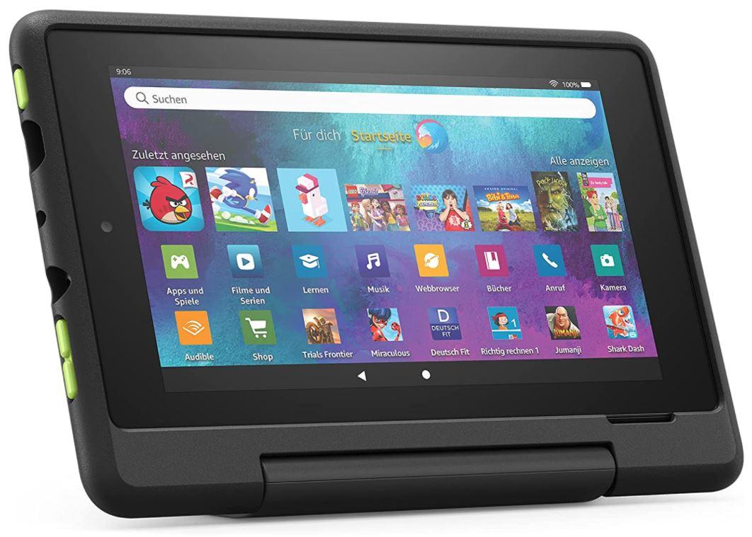 Fire 7 Kids Pro-Tablet (7 Zoll, 16 GB) in Schwarz