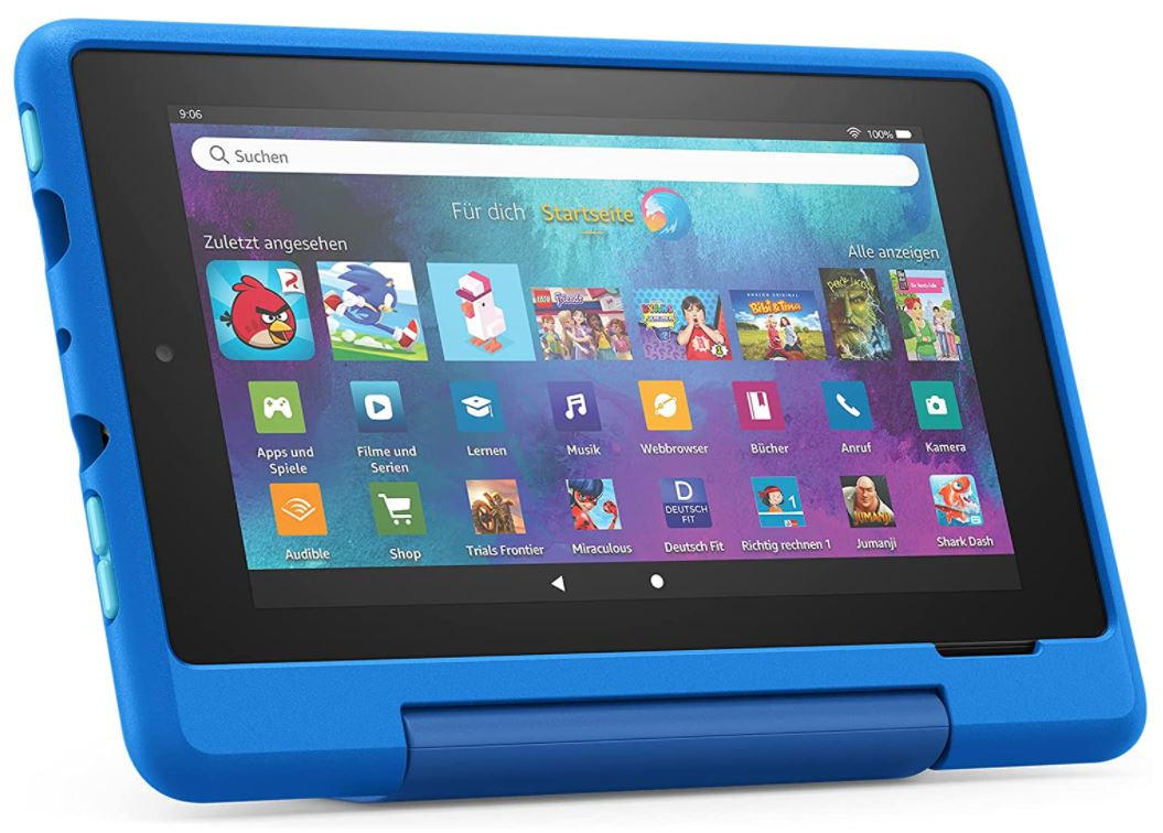 Fire 7 Kids Pro-Tablet (7 Zoll, 16 GB) Raumschiff