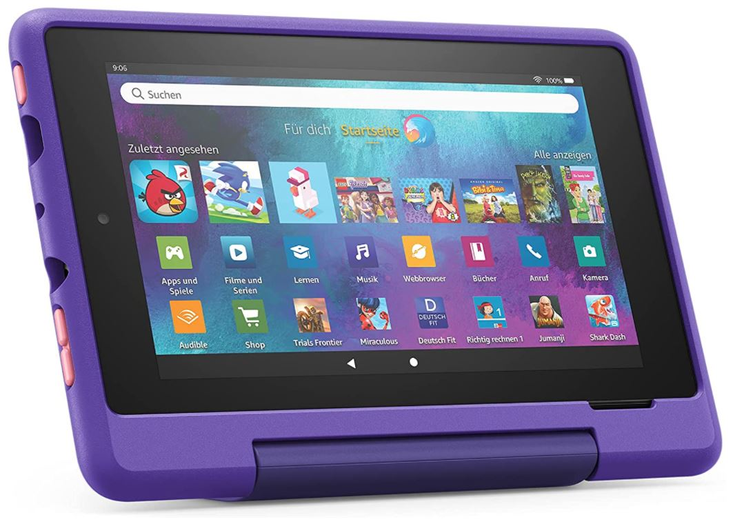 Fire 7 Kids Pro-Tablet (7 Zoll, 16 GB) in Graffiti