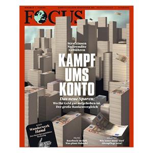 Jahresabo (52 Ausgaben) FOCUS für 265,20€ – Prämie: 230€ Amazon-Gutschein