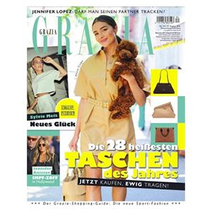 Top! Jahresabo (51 Ausgaben) Grazia für nur einmalig 9,95€ (statt 173,40€)