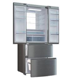 Haier B3FE742CMJW French Door Edelstahl Kühlschrank mit Wasserspender für 644€