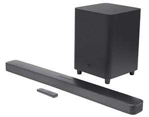 JBL Bar 5.1 Surround – Sound Bar mit Subwoofer (Multibeam, Airplay2, Alexa) für nur 293,27€