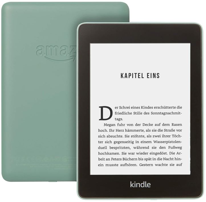 Kindle Paperwhite in Grün