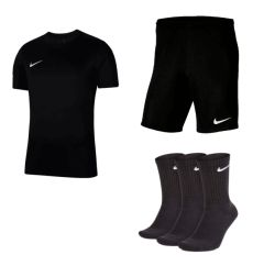 Nike Trainingsset Park VII 3-teilig (T-Shirt, Shorts + 3 Paar Socken) nur 26,95€